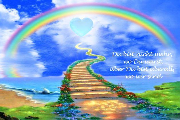 Regenbogenbrücke Tierheim Gröbern - das mit dem blauen Herzen mitten im Grünen