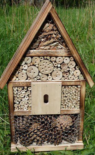 Tierheim-Groebern - Insektenhotel selbst bauen